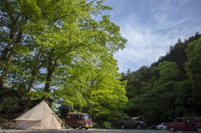 古民家ファミリービレッジキャンプ/バーベキュー場 河原サイト2