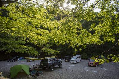 古民家ファミリービレッジキャンプ/バーベキュー場 河原サイト