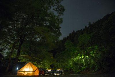 古民家ファミリービレッジキャンプ/バーベキュー場 河原サイト星空